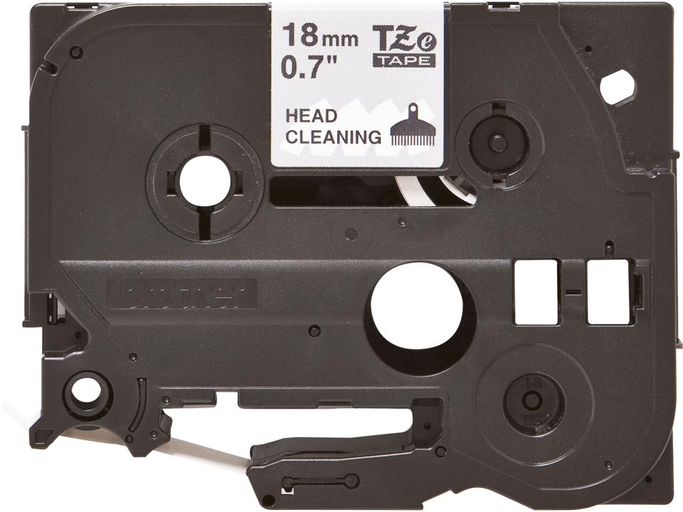Brother TZe-CL4 tulostuspään puhdistusnauha, leveys 18 mm