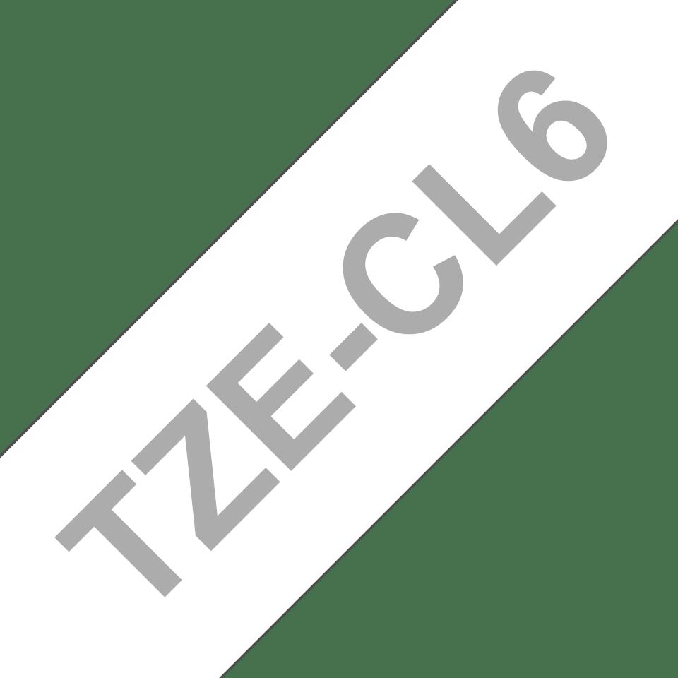 Alkuperäinen Brother TZeCL6 – tulostuspään puhdistusnauha, 36 mm 3