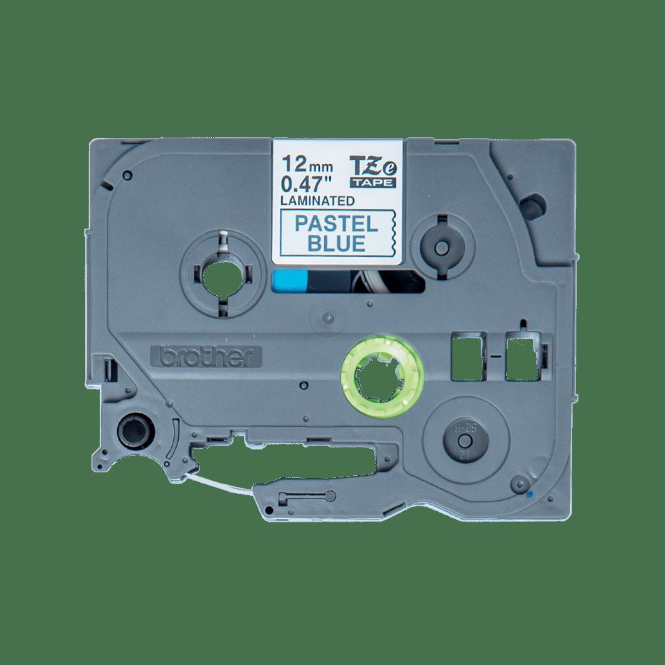 Alkuperäinen Brother TZeMQ531 -tarranauha – musta teksti pastellinsinisellä pohjalla, 12 mm.  2