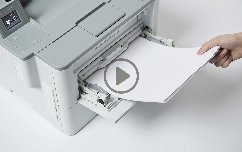 HL-L6400DWT - mustavalkolasertulostin lisäpaperikasetilla 4