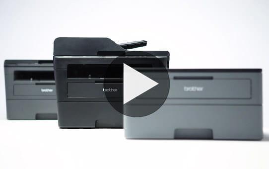 Brotherin kompakti MFC-L2710DW lasermonitoimilaite faksilla 7